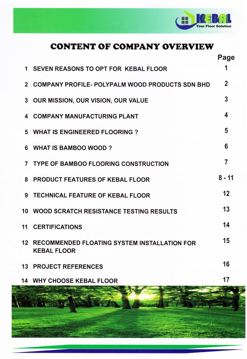 Polypalm Wood Products Sdn Bhd Company Profile